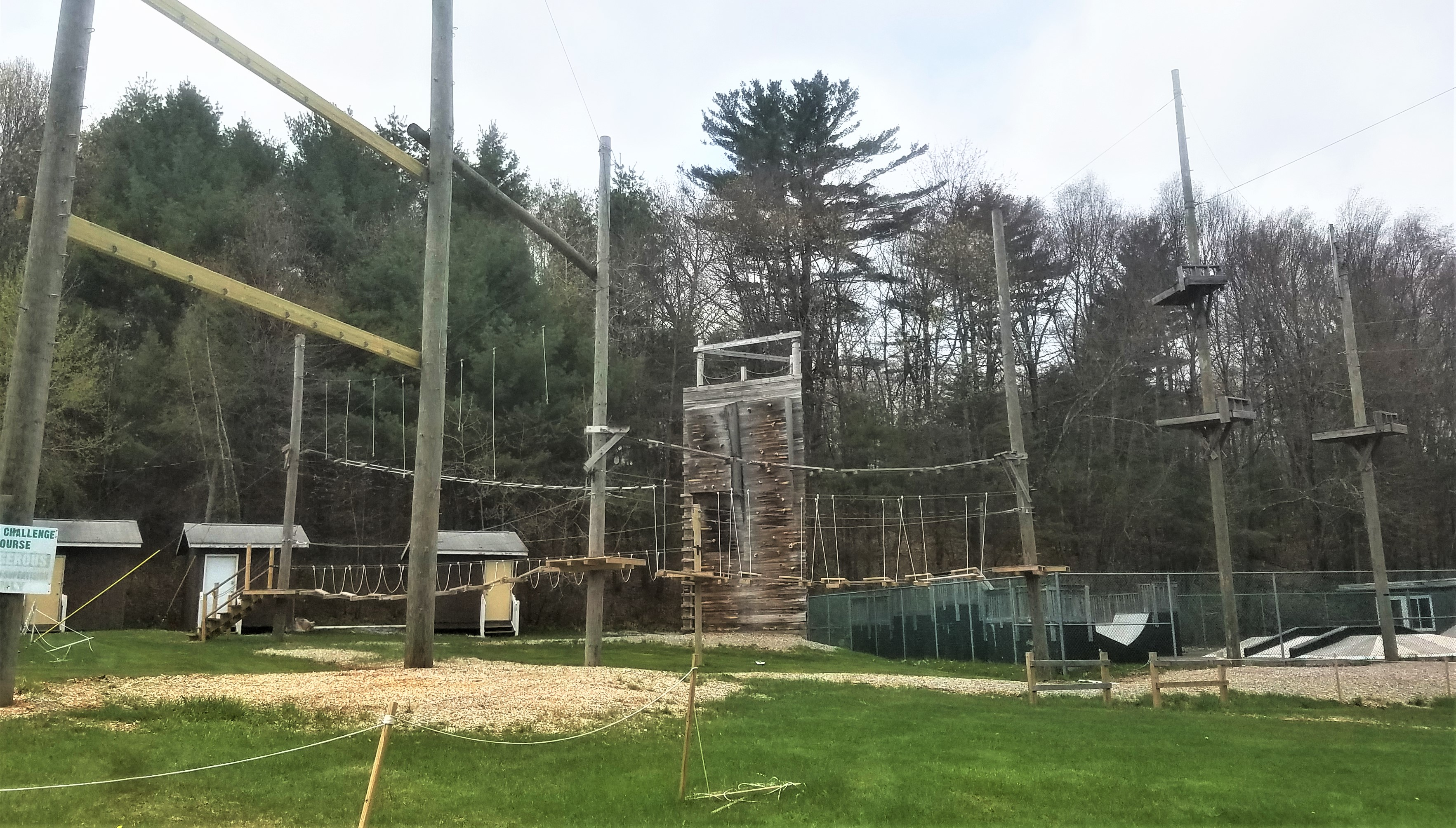 High Ropes Challenge Course